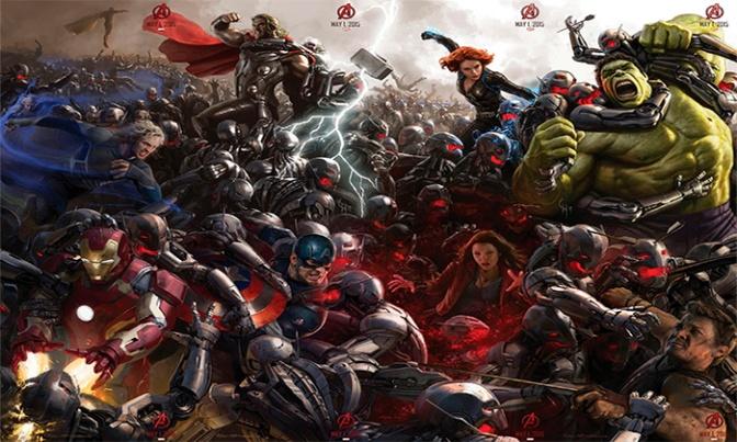Agora Oficial – Trailer Avengers 2: Age of Ultron