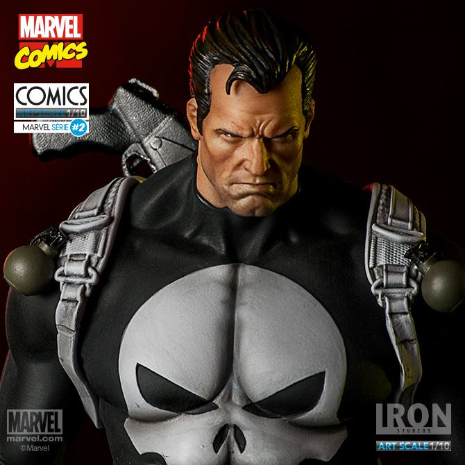 Iron Studios – Punisher – 1/10 Art Scale Marvel Comics serie 3