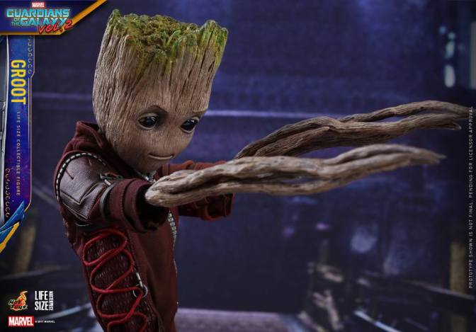 Hot Toys – GOTG Vol. 2 – Groot Life-Size Collectible Figure