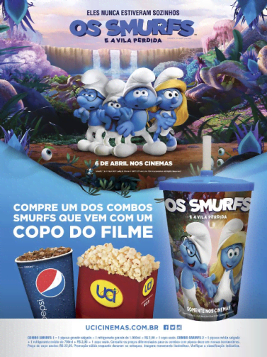 smurfs combo uci