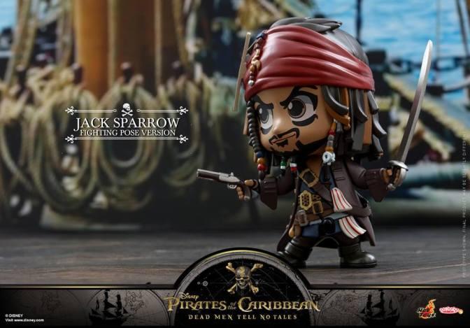 Hot Toys – POTC5:Dead Men Tell No Tales Jack Sparrow Cosbaby Series
