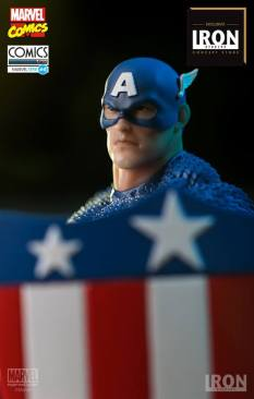 Iron Studios - Captain America Art Scale 1 10 - Marvel Comics Série 4 concept 01