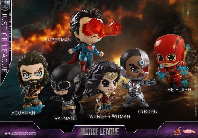 Hot Toys – Justice League Cosbaby (S) Series