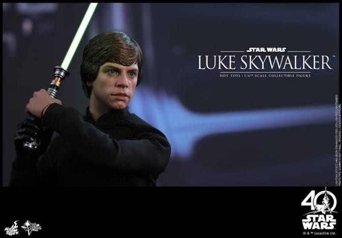 Hot Toys – Star Wars: ROTJ – 1/6th Luke Skywalker Collectible Figure