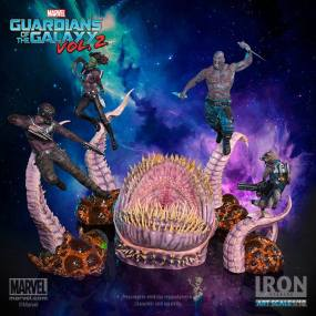 Iron Studios - Gamora BDS Art Scale 1 10 - Guardians of the Galaxy Vol 2 06