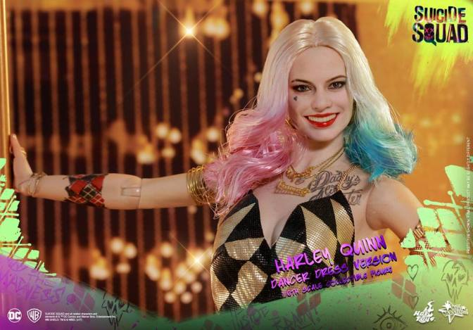 Hot Toys – Suicide Squad 1/6th scale Harley Quinn (Dancer Dress Version)