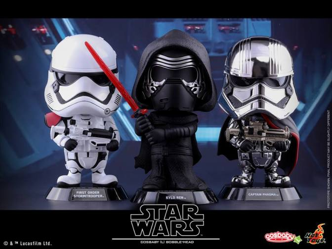Hot Toys – SW: The Force Awakens-Cosbaby (L) Bobble-Head Collectible Figure