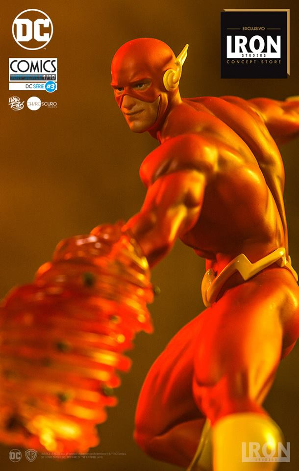 Iron Studios – The Flash Art Scale 1/10 by Ivan Reis – DC Comics