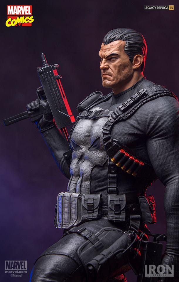 Iron Studios – The Punisher Legacy Replica 1/4 – Marvel Comics