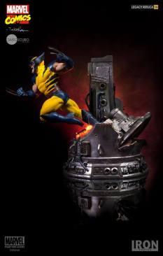 Iron Studios - Wolverine Legacy Replica 1 4 by Marcio Takara - Marvel Comics 02