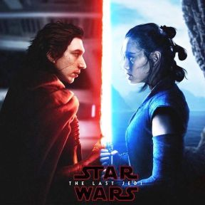 star-wars the last jedi rey kylo ren