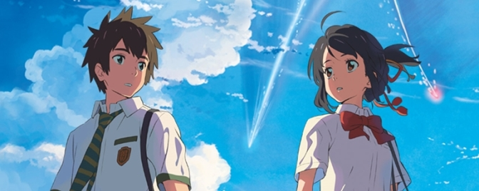"Anime japonês ""Your Name"" ganhará versão live-action"