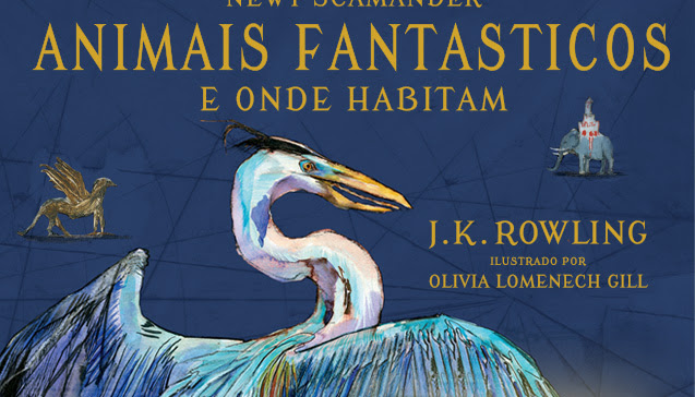 Editora Rocco começa pré-venda de Animais Fantásticos e Onde Habitam ilustrado