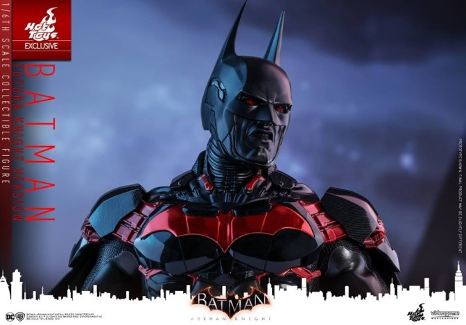 Hot Toys – Batman: Arkham Knight – 1/6th scale Batman (Futura Knight Version)