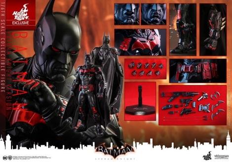Hot Toys - Batman Arkham Knight - 1 6th scale Batman Futura Knight Version 19.jpg