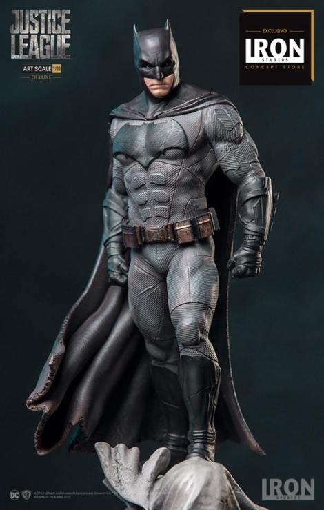 Iron Studios - Batman Deluxe Art Scale 1 10 - Justice League - Event Exclusive 02