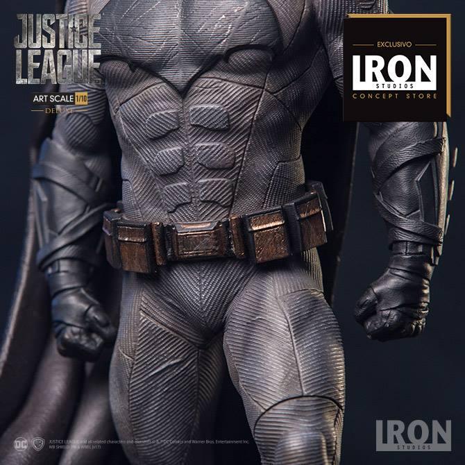 Iron Studios – Batman Deluxe Art Scale 1/10 – Justice League – Event Exclusive