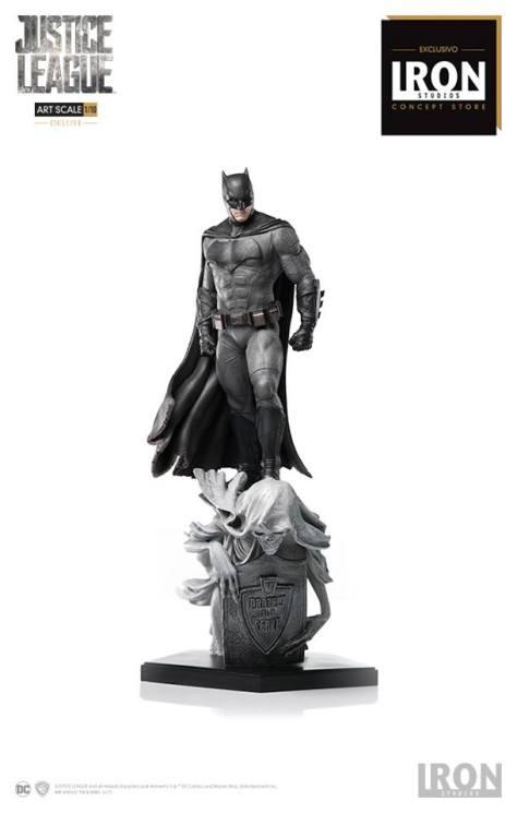 Iron Studios - Batman Deluxe Art Scale 1 10 - Justice League - Event Exclusive 13