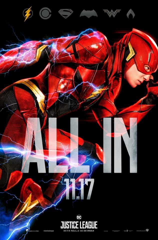 Novos posteres e data do trailer de Liga da Justiça