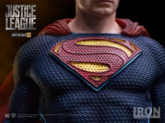 Iron Studios – Superman Art Scale 1/10 – Justice League