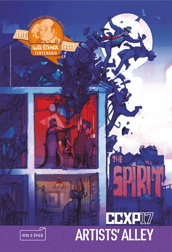 Will eisner ccxp the spirit